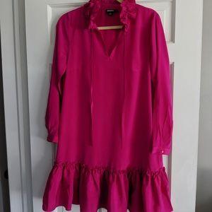 DKNY  ruffled dress